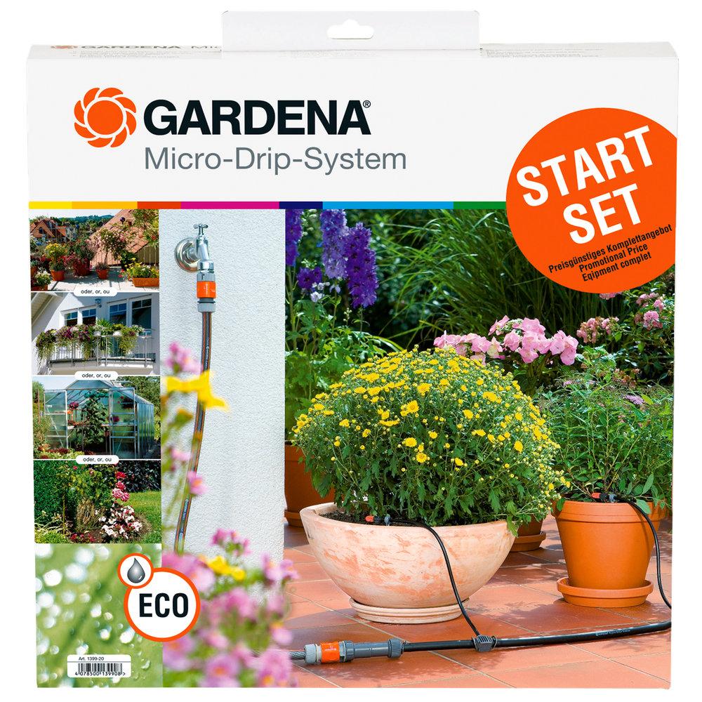 gardena micro-drip starter set - gardena 1399 starter set