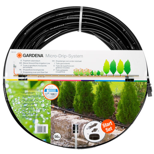 Gardena Above Ground Drip Irrigation Line 1/2
