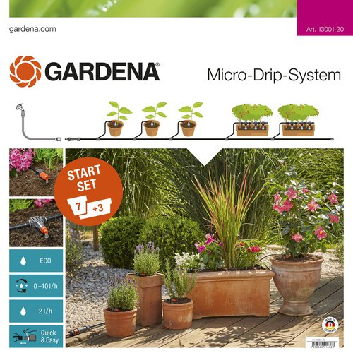 Gardena Starter Set for plant in pots